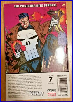 Marvel Epic Collection THE PUNISHER VOL 2,3,5 & 7 TPB 4 BOOK LOT