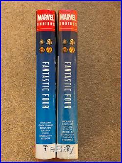 Marvel Fantastic Four Omnibus Hickman Volume 1 & 2