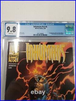 Marvel Inhumans Vol. 2 #5 First Appearance Of The New Black Widow CGC 9.8