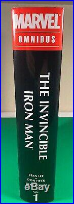 Marvel, Invincible Iron Man Omnibus Volume 1, Hard Cover, NEW, UNREAD, and RARE
