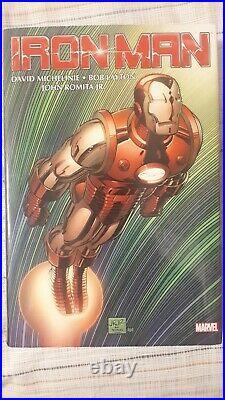 Marvel, Iron Man Omnibus Vol 1 Hardcover (HC) Michelinie, Layton, JRJR Cover