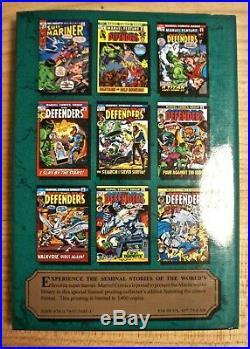 Marvel Masterworks Defenders 1 variant volume 100