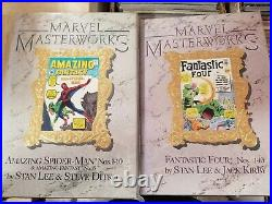 Marvel Masterworks Hardcover HUGE Lot Vol 1-27 Xmen Spiderman Thor Avengers Hulk