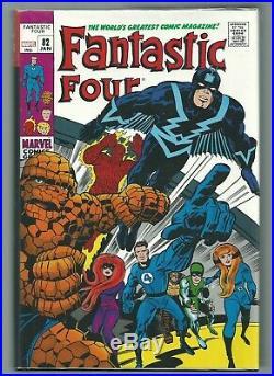 Marvel Omnibus FANTASTIC FOUR Vol 1 HC/DJ BRODART VF/NM OOP 2015 1st prtg Lee
