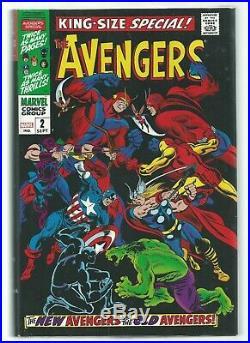 Marvel Omnibus THE AVENGERS Vol 2 HC/DJ BRODART NM 2015 1st ptg Buscema VARIANT