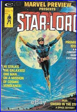 Marvel Preview Presents Star-Lord Vol. 1 No. 4 Jan 1976 Issue (1st Appearance)