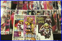 Marvel Spider-Gwen Vol 1 #1-5 Vol 2 #1-34 Complete Lot of 39 Free Shipping