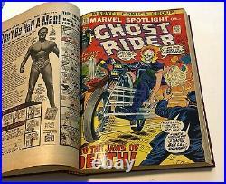 Marvel Spotlight #5-17 & GR #1-3, 1st Appearance Ghost Rider BOUND VOLUME Ploog
