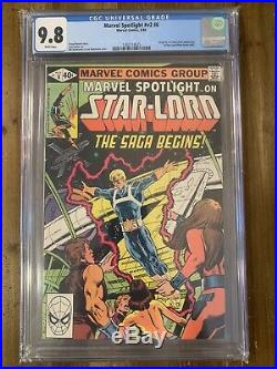 Marvel Spotlight #6 Vol 2 CGC 9.8 First Appearance Peter Quill Star-lord GOTG