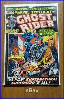 Marvel Spotlight Vol. 1 #5 GHOST RIDER 1972