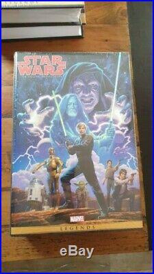 Marvel Star Wars Omnibus vol 1-3 (DM Variant Covers) 2 & 3 still sealed