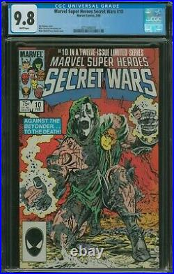 Marvel Super Heroes Secret Wars #10 CGC 9.8 1984 series vol. 1