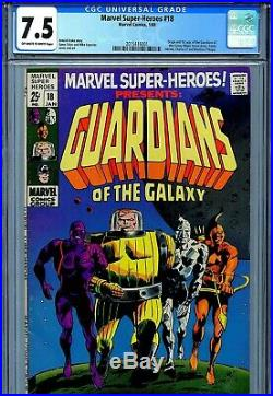 Marvel Super-Heroes Vol 1 18 CGC 7.5 1st Guardians of the Galaxy Yondu GotG OWithW