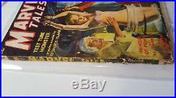Marvel Tales Pulp May 1940 Vol. 1 # 2 Rare Classic Bondage Cover