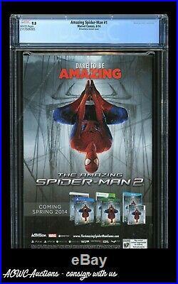 Marvel The Amazing Spider-Man vol. 3 #1 Ed McGuinness 175 Variant CGC 9.8