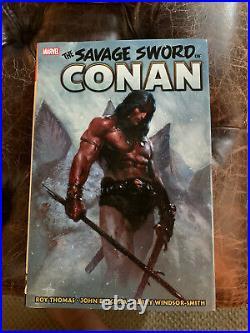 Marvel The Savage Sword of Conan omnibus Vol. 1