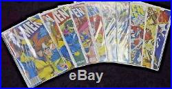 Marvel UNCANNY X-MEN Vol 2 #1-100 VF Near Complete Run