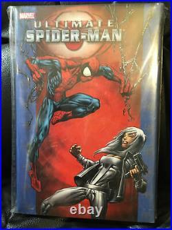 Marvel Ultimate Spider-Man vol 8 deluxe oversized hardcover Bendis, #86-96 new