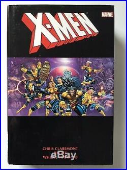 Marvel X-Men Chris Claremont Jim Lee Omnibus Vol 1 And 2 Variant Hardcover USED