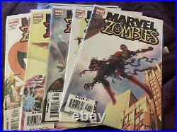 Marvel Zombies Vol 1 Lot, Complete Mini Series Set with#s 1-5, 1st Prints, Kirkman