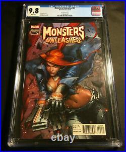 Monsters Unleashed 3 Cgc 9.8 Variant 125 Elsa Bloodstone Jeehyung Lee Vol 1