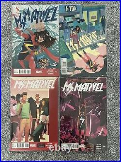 Ms. Marvel (Vol. 3) #1(5th print) -19 Set 19 Comics Lot Kamala Khan 2014-2015