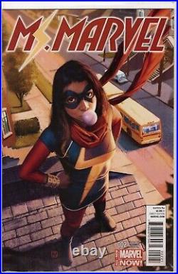 Ms. Marvel Vol 3 #2 Jorge Molina Variant (2014) Kamala Khan