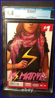 Ms. Marvel Vol 3 Issue #1(Slabbed CGC Grade 9.4) by Comic Blink