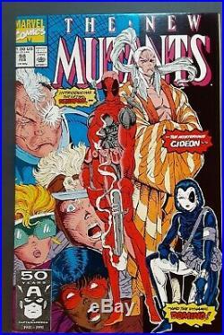 New Mutants #98 Vol 1 PERFECT High Grade 1st Appearance of Deadpool