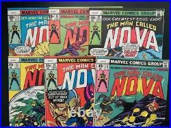 Nova #1-25 complete vol 1 (Marvel, 1976), high grade