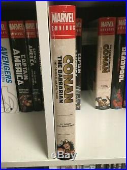 OOP NEW Conan The Barbarian Original Marvel Years Omnibus Volume 1 Colossal HC