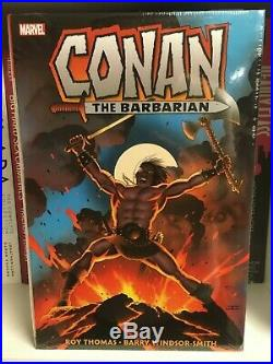 OOP SEALED Conan The Barbarian Original Marvel Year Omnibus Volume 1 Colossal HC