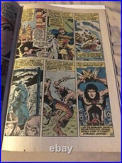 Original Marvel Comics Group Vol. 1 #1 Conan The Barbarian. Oct. 1970