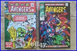 Rare Marvel Avengers Omnibus Vol 1 2 Lee Kirby Thomas Hardcover OOP Variant 1st