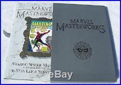 Rare Marvel Masterworks Spider-Man Vol 1 Limited Hardcover HC Slipcase Stan Lee