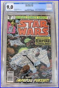 STAR WARS vol. 1 (1977) #41 CGC 9.0 1st Yoda in comics (Marvel Comics)