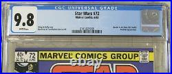 STAR WARS vol. 1 (1977) #72 CGC 9.8 Bossk & IG-88 appearance (Marvel Comics)