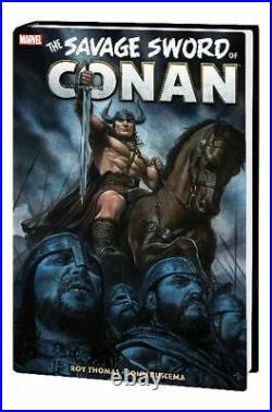 Savage Sword Conan Orig Marvel Yrs Omnibus Hc Vol 04 (mr) (marvel Comics) 81720