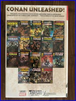 Savage Sword Of Conan Omnibus Vol. 1 DM Variant Cover