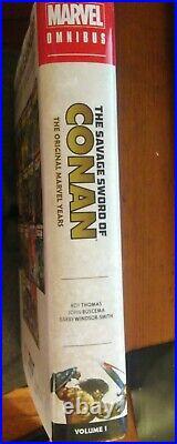 Savage Sword of Conan Omnibus Vol 1 Barry Windsor-Smith, Unread, Rare and OOP