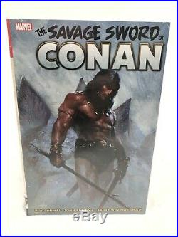 Savage Sword of Conan Omnibus Vol 1 Marvel HC Hard Cover Brand New Sealed $125