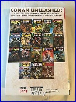 Savage Sword of Conan Omnibus Vol 1 Marvel HC OOP NM Brand New Sealed $125