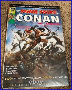 Savage Sword of Conan Omnibus vol. 1 Direct Market Cover Sealed