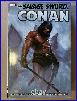 Savage Sword of Conan The Original Marvel Years Omnibus Vol. 1 Marvel Comics
