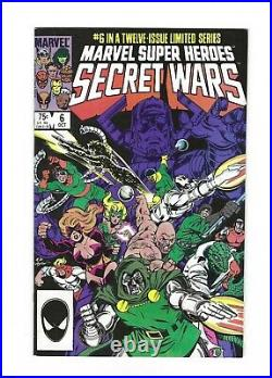 Secret Wars #1-#12 vol. 1, #8, Complete High Grade Set, 9.0 VF/NM avg, Marvel