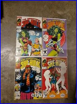 Sensational She Hulk #1-50 (25 comics #39 & #40) vol 2 Marvel KEY HOT 1989