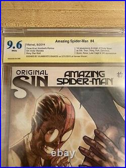 Silk Comic Book Collection CBCS Graded Amazing Spider Man 4 Signature Vol 1,2,3