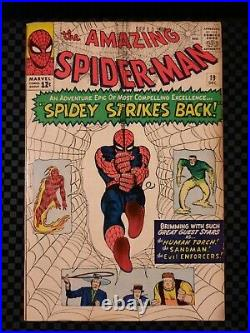 Silver Age Comic, Amazing Spider-Man #19 Vol 1 Very Nice Higher Grade