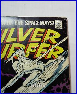 Silver Surfer #4 Marvel Vol. 1 VG/FN cents 1969 Key Issue Classic Thor Cover