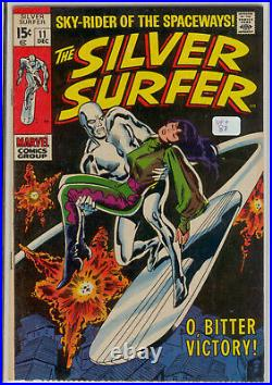 Silver Surfer Vol. 1 Issues 1-18 Complete Set Run Lot Silver Age
